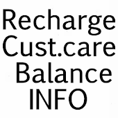 Recharge,Balance Info. Numbers