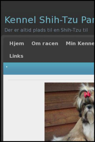 Kennel Shih Tzu Paradis - screenshot
