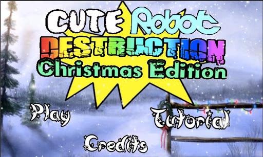Cute Robot: Christmas Edition
