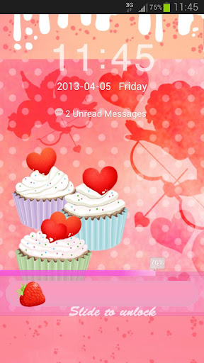 GO Locker Cupcake Heart Buy