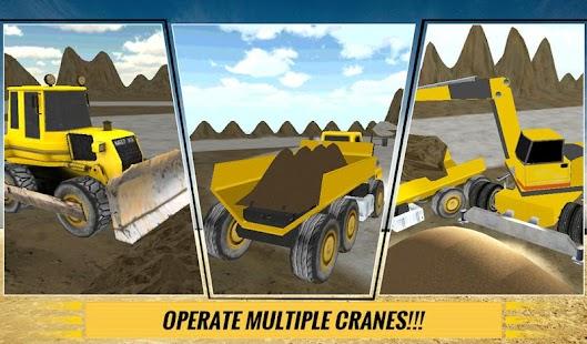 Sand-Excavator-Dump-Truck-Sim 11