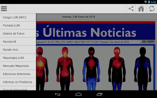 Screenshot of LUN.COM