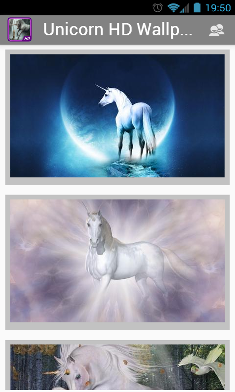 Unicorn HD Wallpapers - screenshot