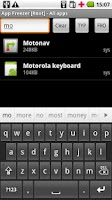 Screenshot of System App Freezer & Remover