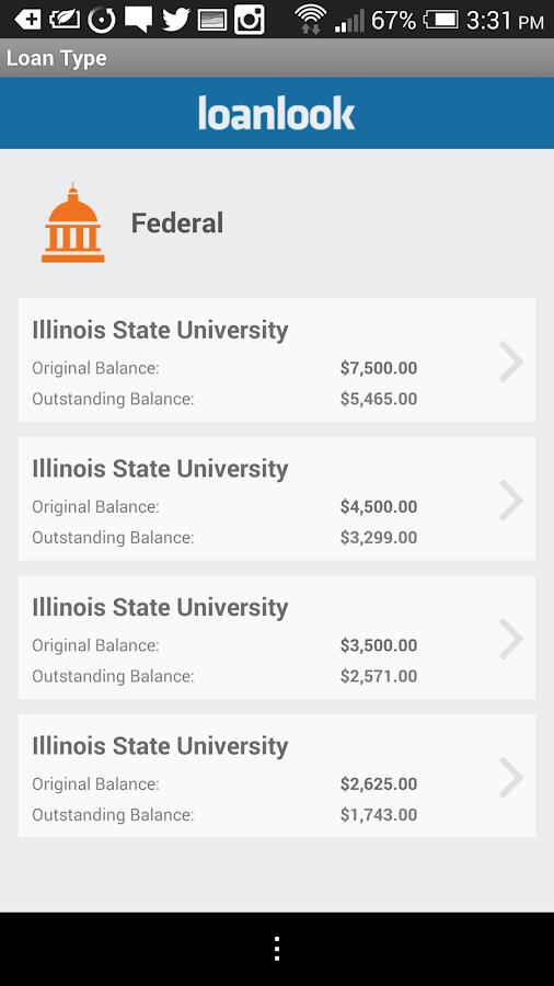Loanlook - screenshot