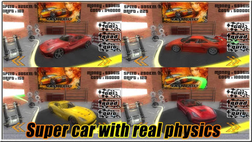 【免費賽車遊戲App】Extreme Drift the Traffic Car-APP點子