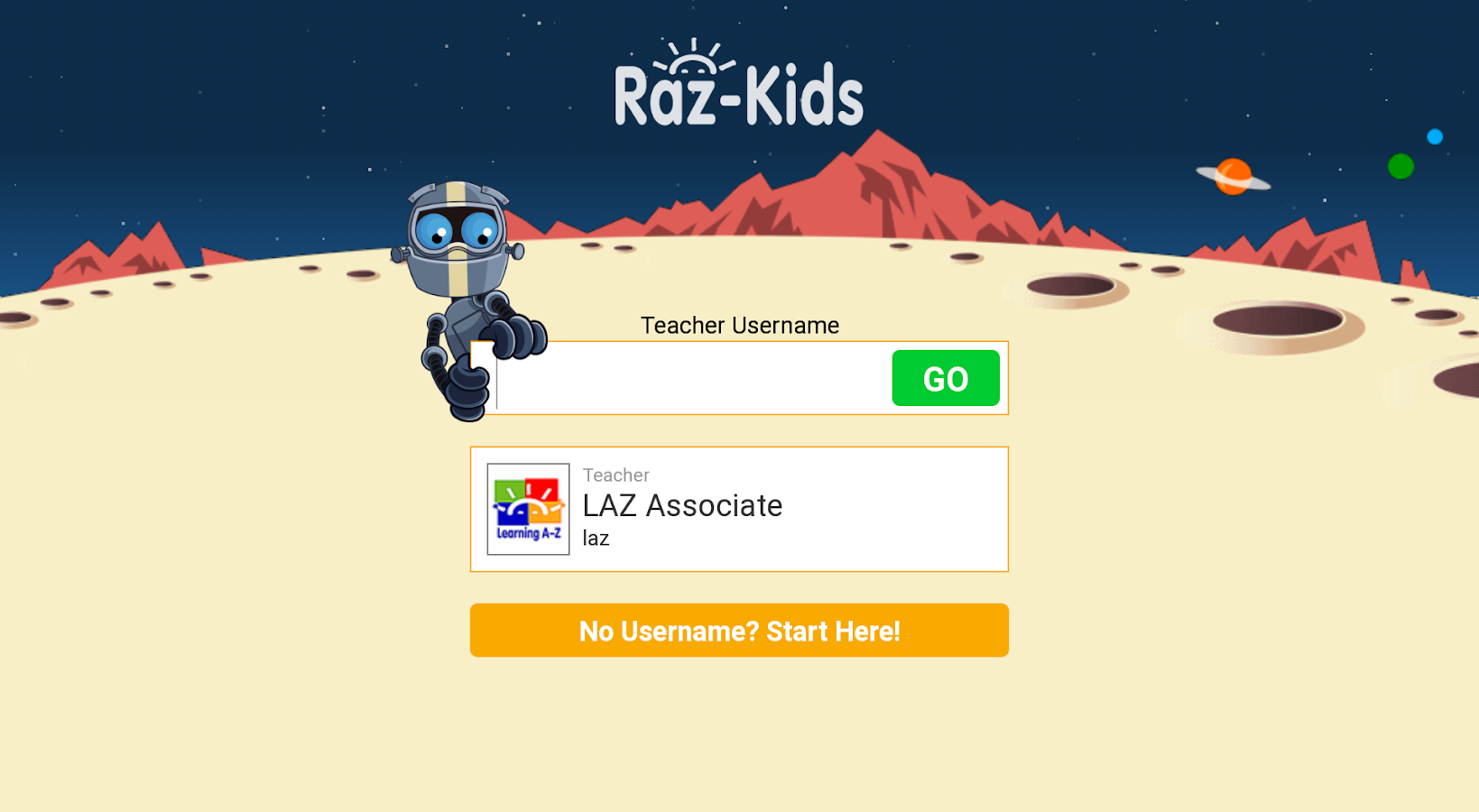 Raz-Kids - screenshot