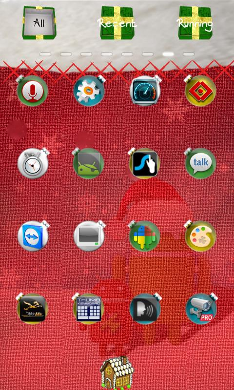 Christmas Theme - screenshot