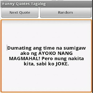 Funny Quotes Tagalog Versionnamefunny Apk Free Entertainment Application Apknow