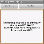 Funny Quotes Tagalog