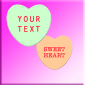 Candy Hearts Live Wallpaper