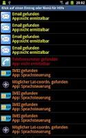 Screenshot of LogMan logcat check