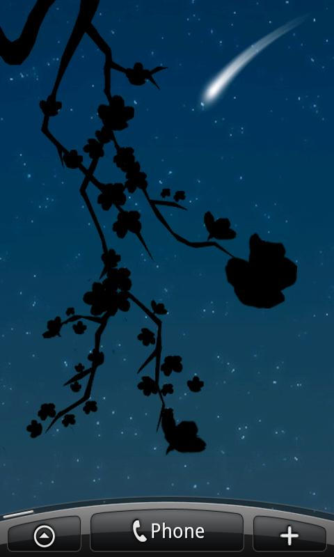 Lovely Sakura Live Wallpaper - screenshot