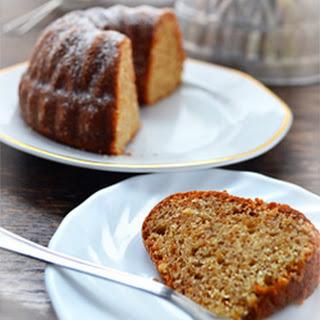 Hazelnut Bundt Cake.