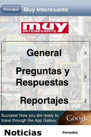 Revistas - screenshot