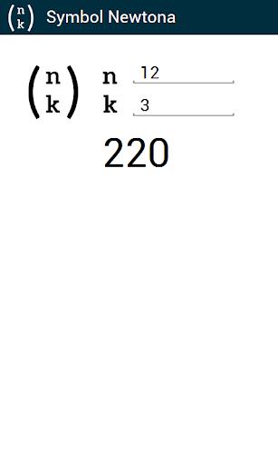Symbol Newtona