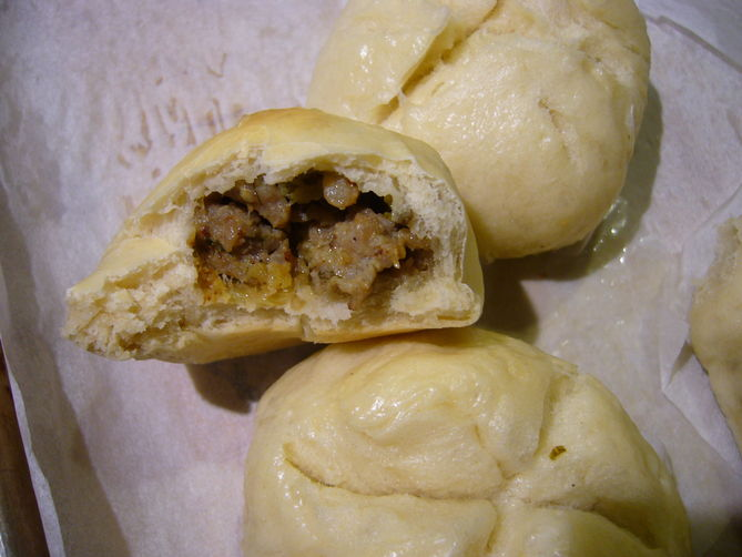 Sausage and Fennel Buns Recipe