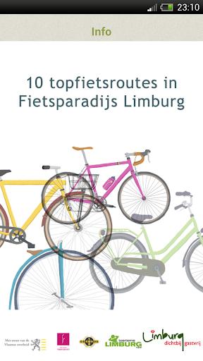 Routes Fietsparadijs Limburg