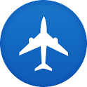 Airline hotels booking HD icon