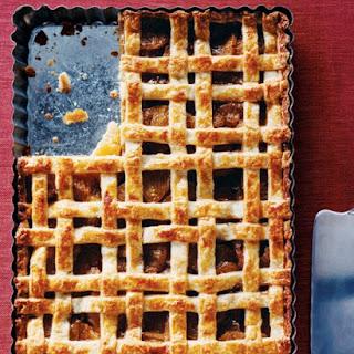 Lattice-Topped Vanilla Bean Pineapple Tart