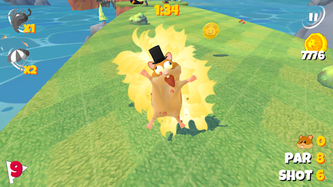 Boom Boom Hamster Golf Screenshot 8