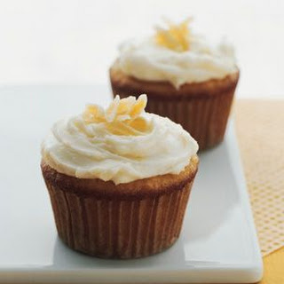 Carrot Cupcakes with Mascarpone Icing.