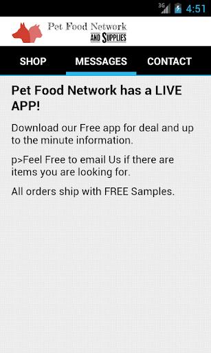 PetFoodNetwork|玩購物App免費|玩APPs