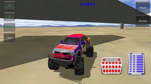 玩免費賽車遊戲APP|下載怪物卡車特技3D app不用錢|硬是要APP