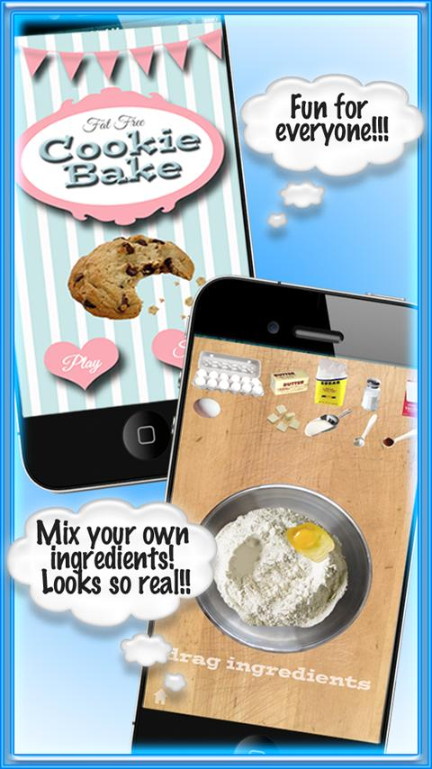 Cookie Bake Free Cooking Games- screenshot