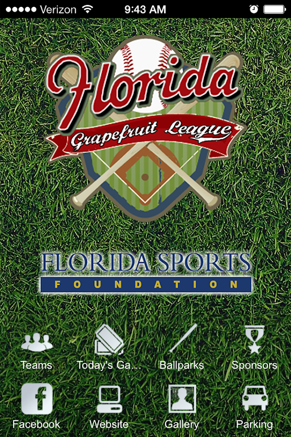 Florida Grapefruit League- screenshot