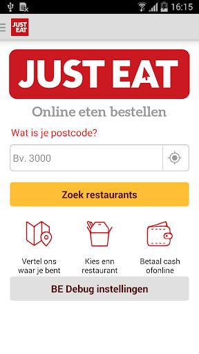 JUST EAT – Bestel eten online