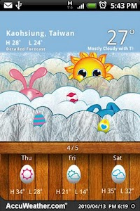 9s-Weather Theme+ (Easter) screenshot 4