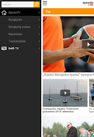 Screenshot of SportoTV – Watch sports live