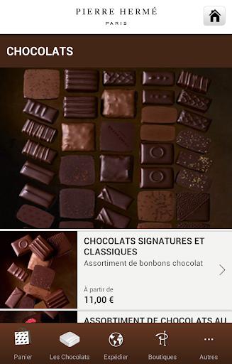 Chocolats Pierre Hermé Paris