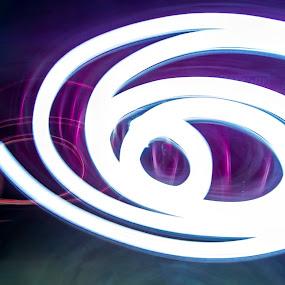 Lampu petromax by R Muh Lutfi - Abstract Light Painting