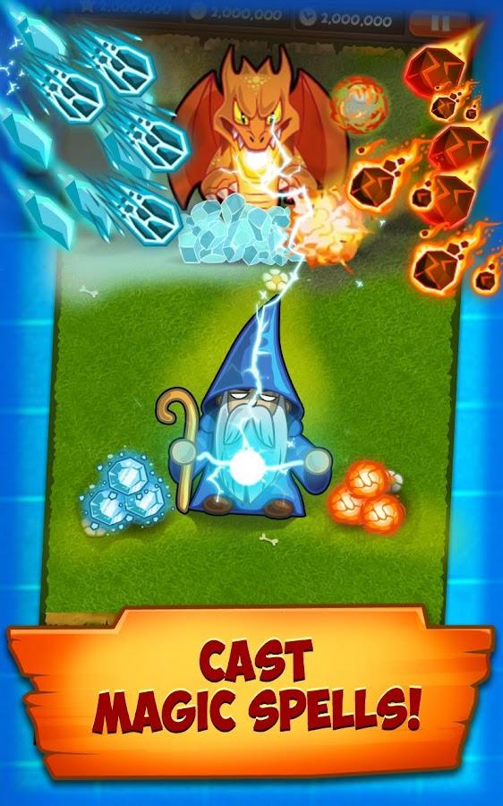 Puzzle Defense: Dragons - screenshot