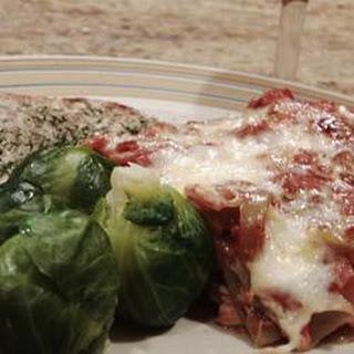 Grammy's Overnight Lasagna
