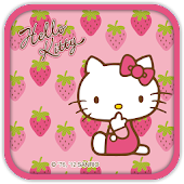 Hello Kitty Strawberry Theme