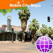 Palm Springs Street Map