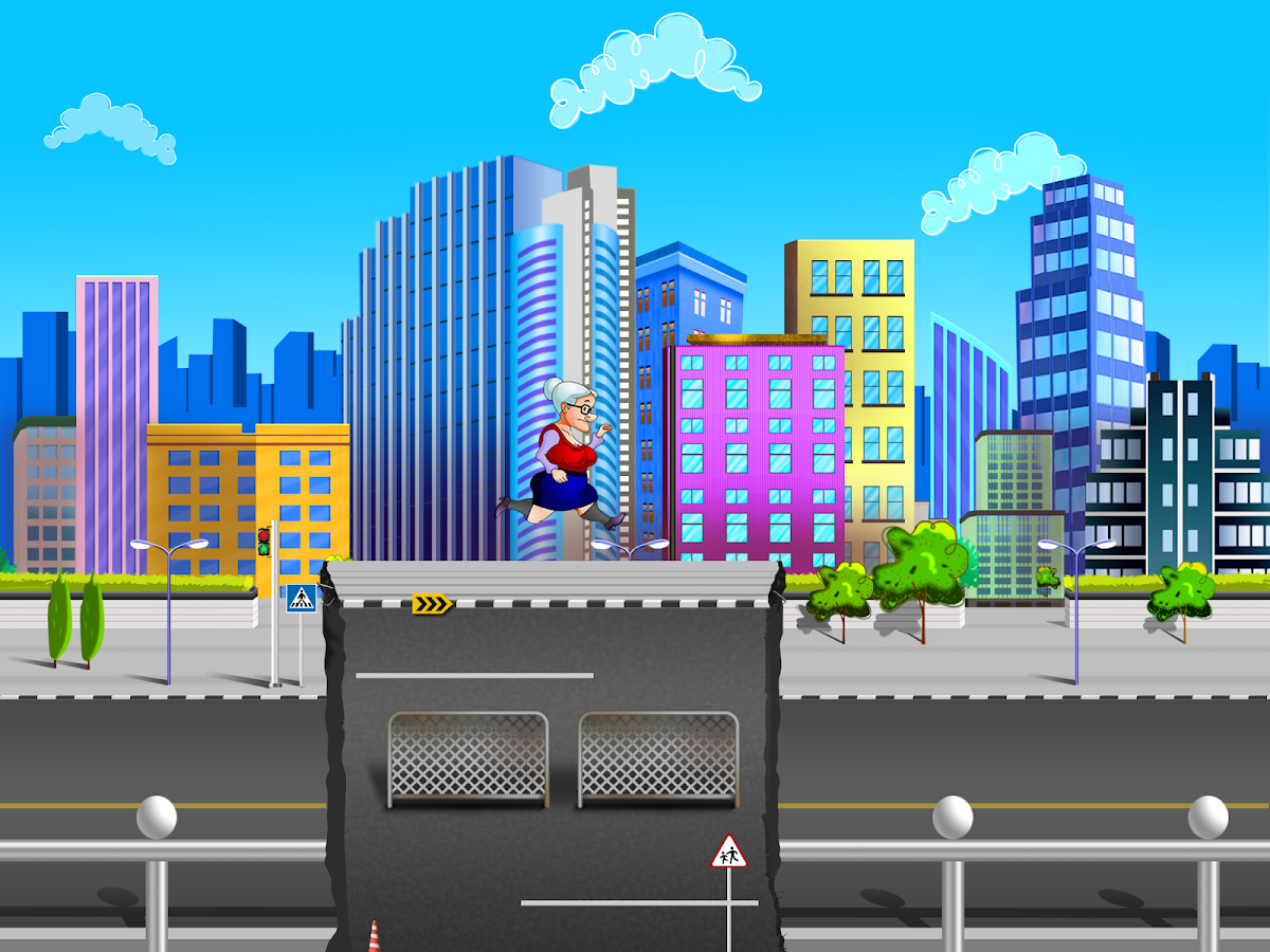 Granny Adventure Run-HD - screenshot
