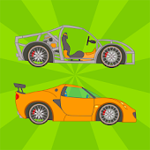 Kids Vehicle Building Game