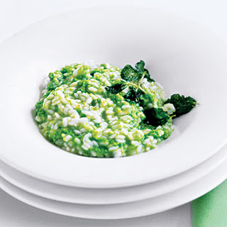 Sweet Pea Risotto.