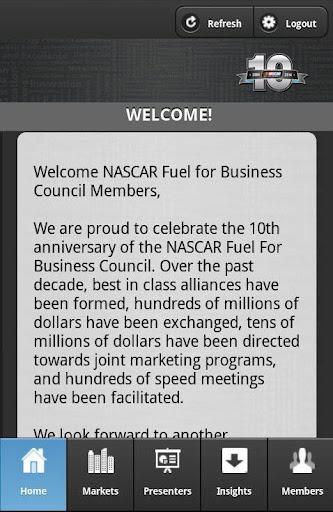 NASCAR Fuel For Business