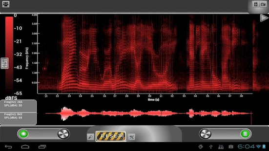 ProSpec - Spectrum Analyzer- screenshot thumbnail