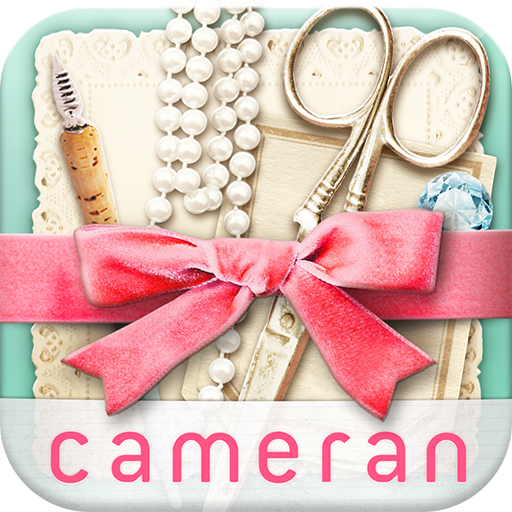 cameran collage -可愛的照片方便地並且拼貼在 攝影 App LOGO-APP試玩
