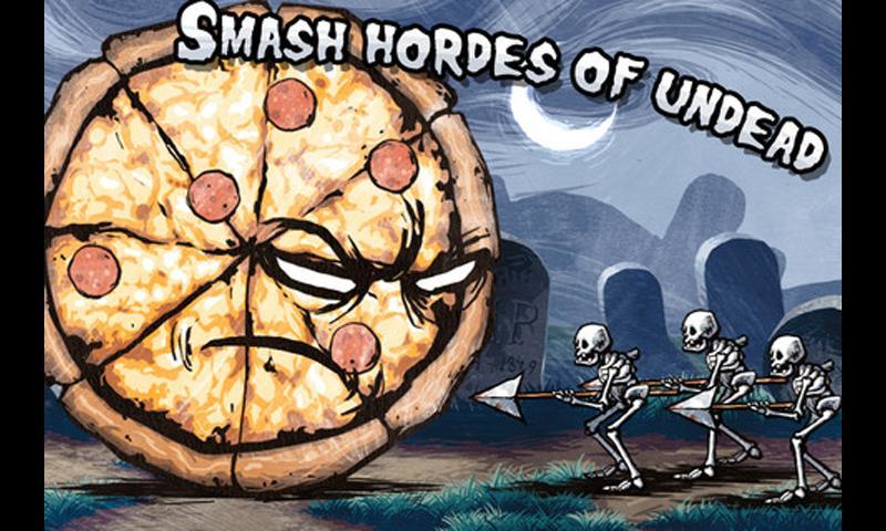 Pizza Vs. Skeletons- screenshot