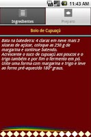 Screenshot of Sabores do Brasil