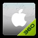 iPhone – 360桌面主题 logo