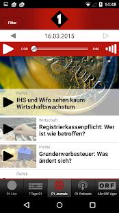 Radio Ö1- screenshot thumbnail