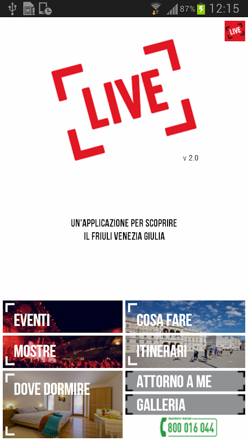 LIVE IT APP- screenshot